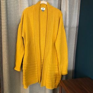 Like new mustard sweater